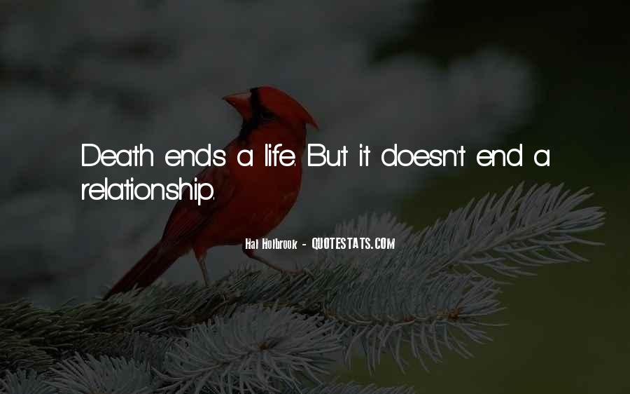 Life Doesn End Quotes #1328522