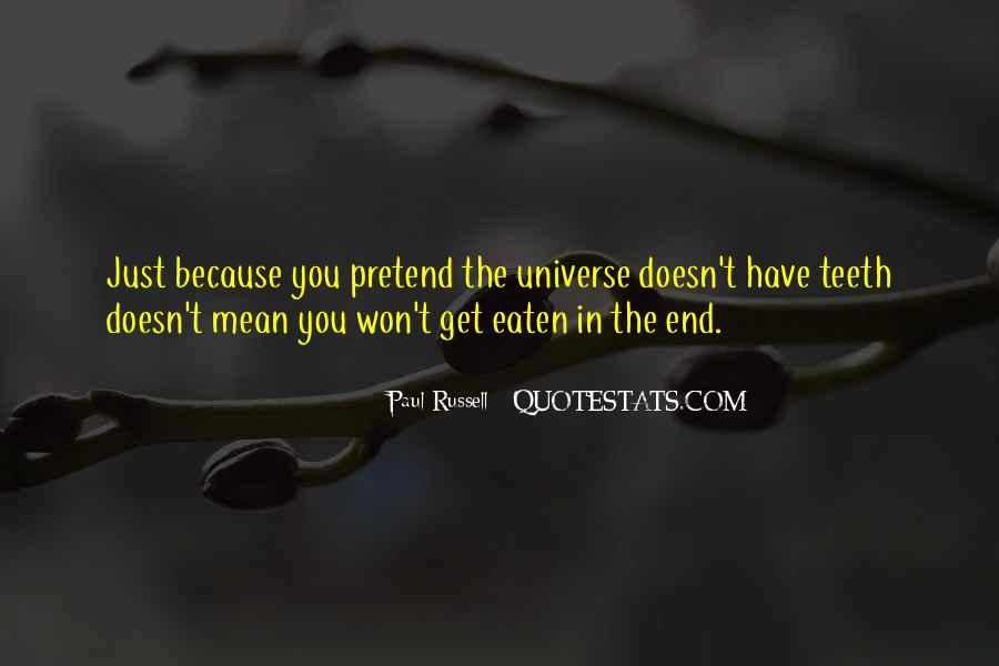Life Doesn End Quotes #1476987