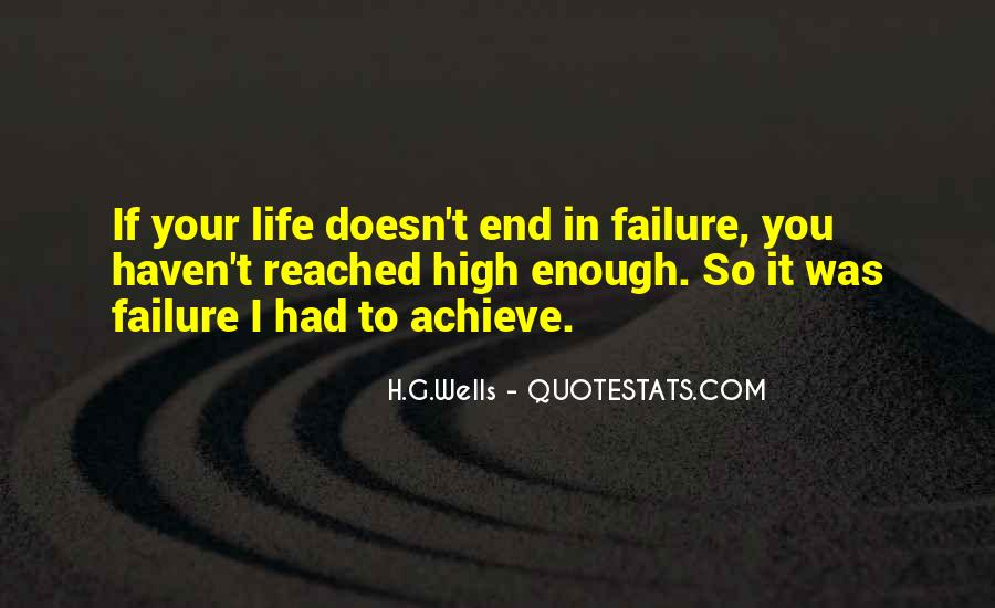 Life Doesn End Quotes #1502601