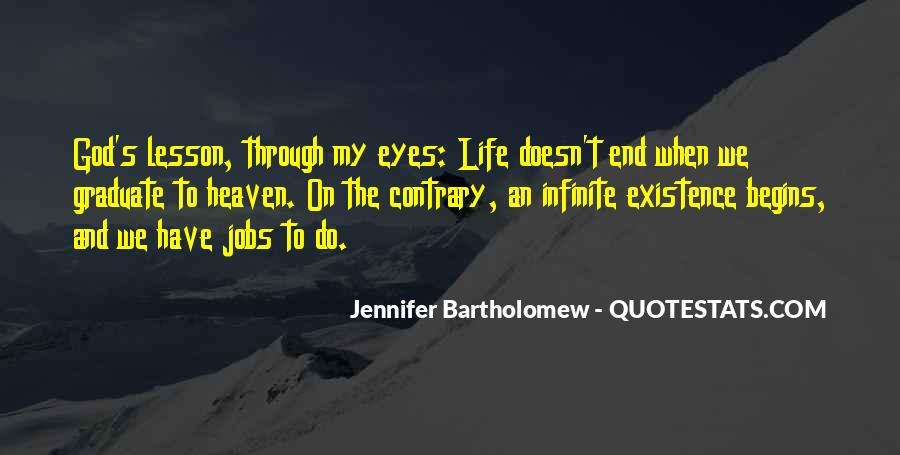 Life Doesn End Quotes #1512631