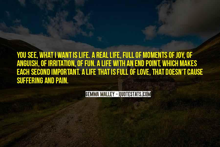 Life Doesn End Quotes #224133