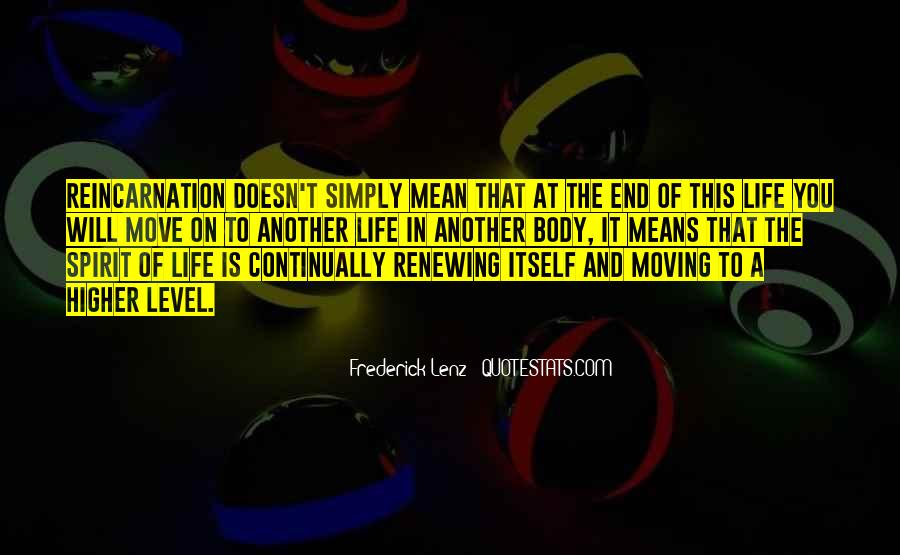 Life Doesn End Quotes #283759