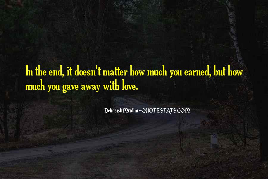 Life Doesn End Quotes #408665