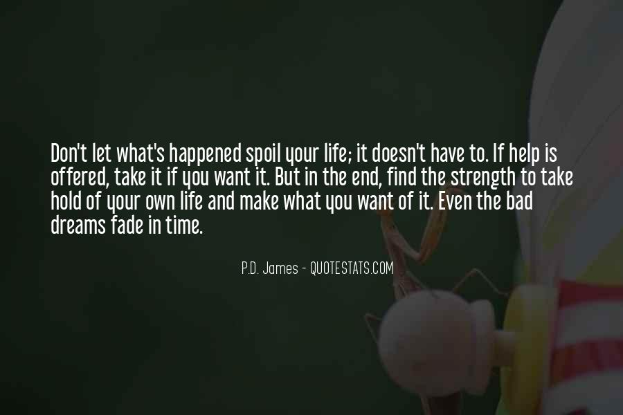Life Doesn End Quotes #517516