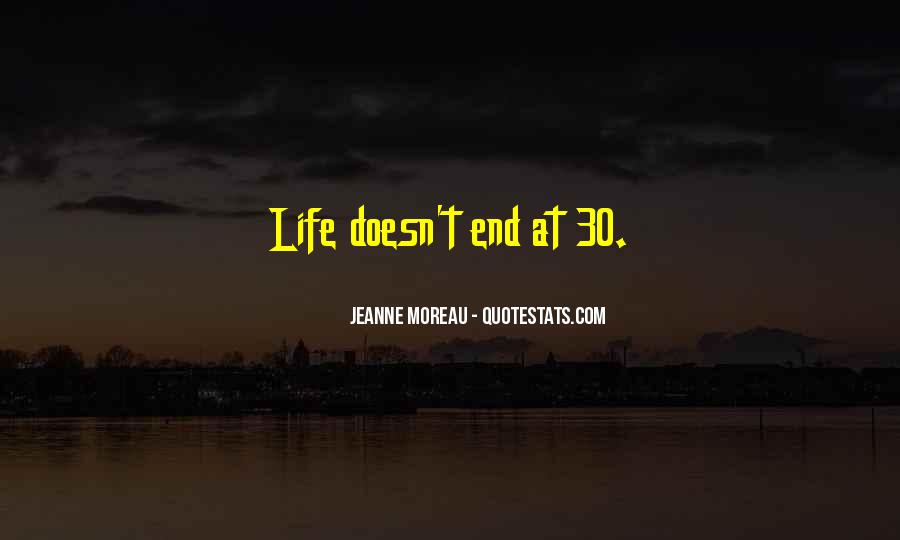 Life Doesn End Quotes #630447