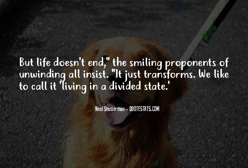 Life Doesn End Quotes #704268