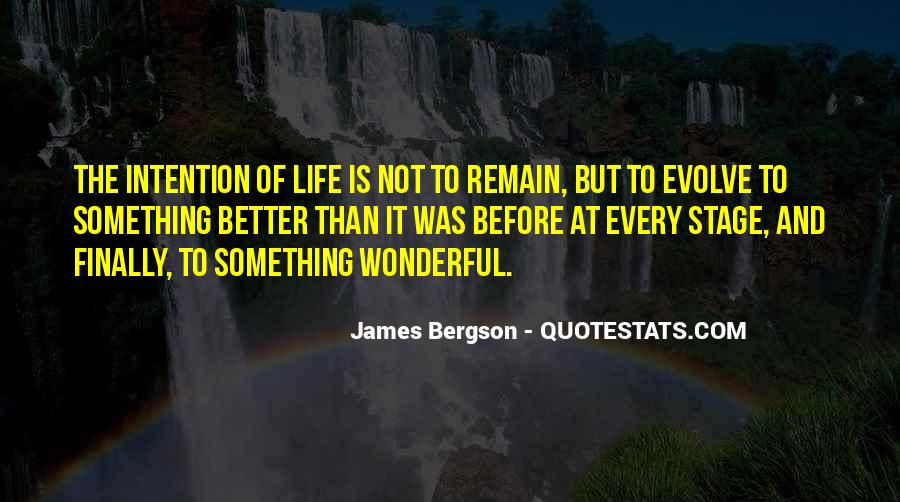 Life Evolve Quotes #1140976