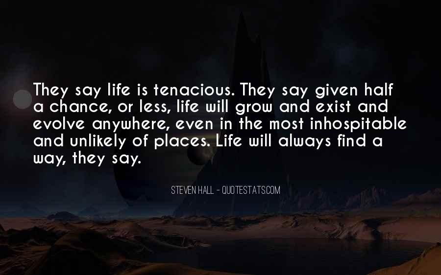 Life Evolve Quotes #1361227