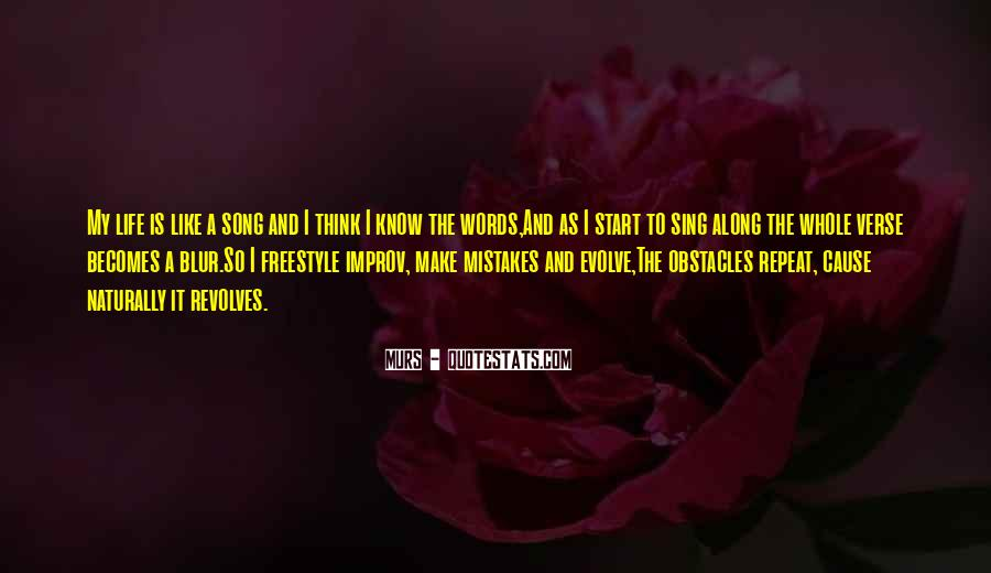 Life Evolve Quotes #1387936