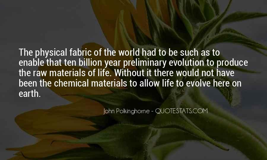 Life Evolve Quotes #1668553