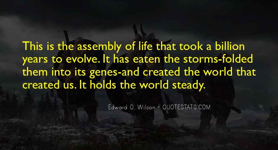 Life Evolve Quotes #1826966