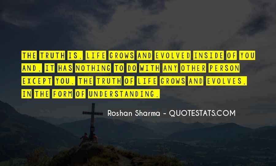 Life Evolve Quotes #1841838