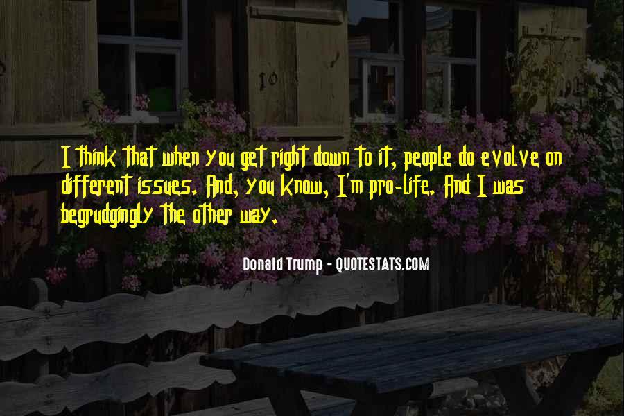 Life Evolve Quotes #49722