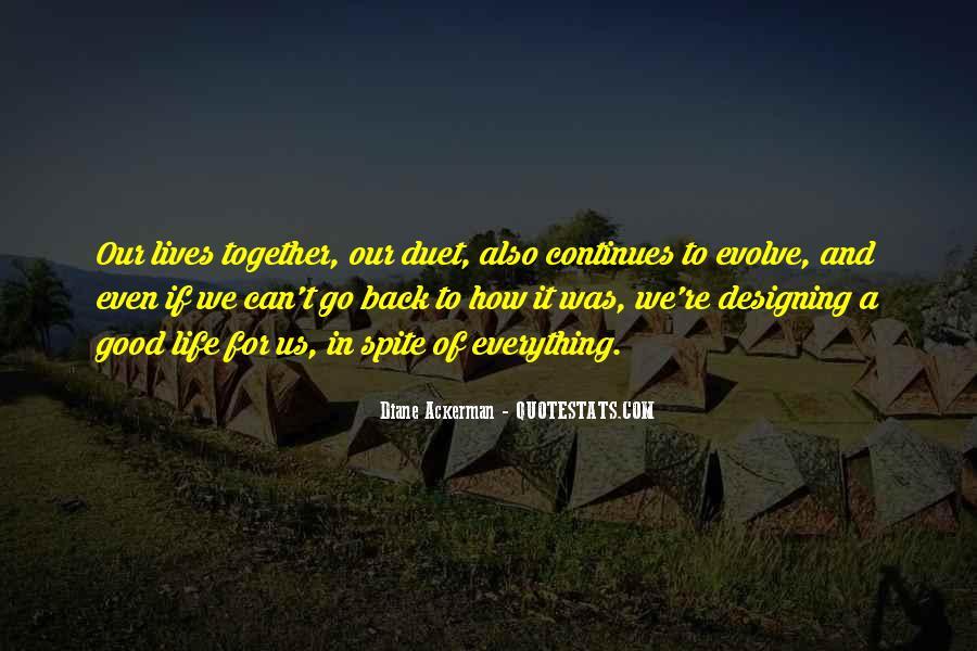 Life Evolve Quotes #538986