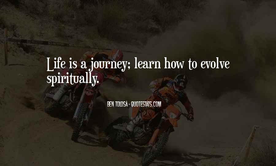 Life Evolve Quotes #925915