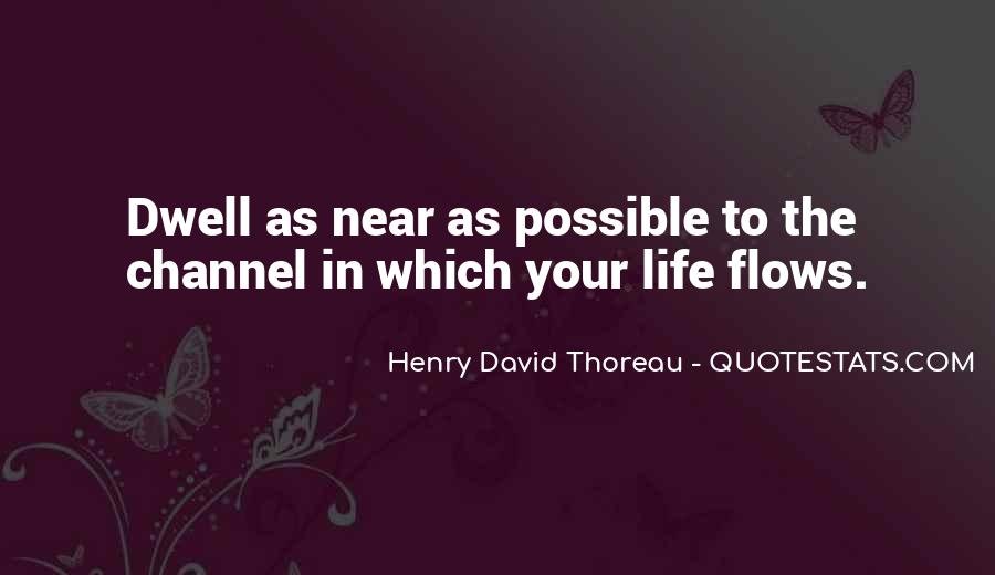 Life Flows Quotes #330118