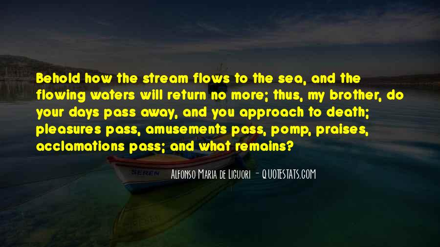 Life Flows Quotes #381821
