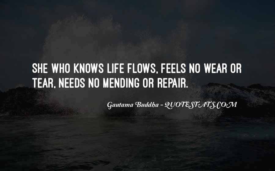 Life Flows Quotes #547442