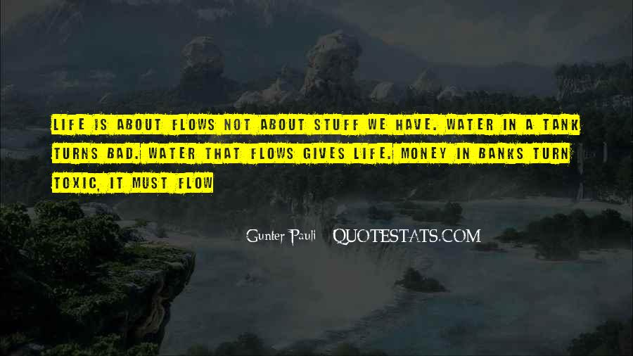 Life Flows Quotes #870985