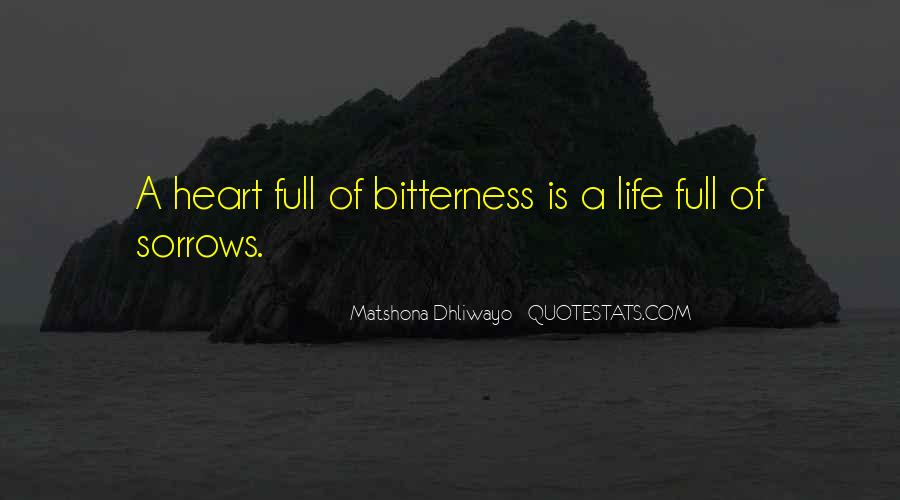 Life Full Of Sorrows Quotes #1800037