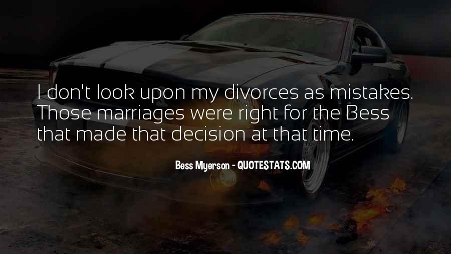 Quotes About Divorces #1215717