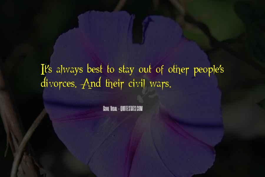 Quotes About Divorces #1736688