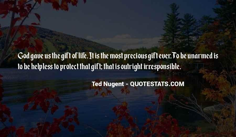 Life Gift God Quotes #173562