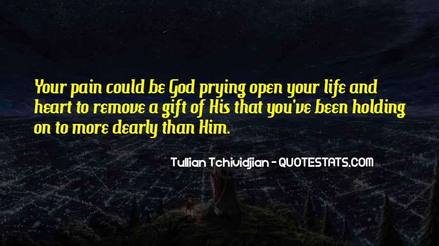 Life Gift God Quotes #257487
