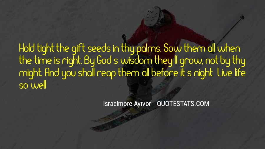 Life Gift God Quotes #37791