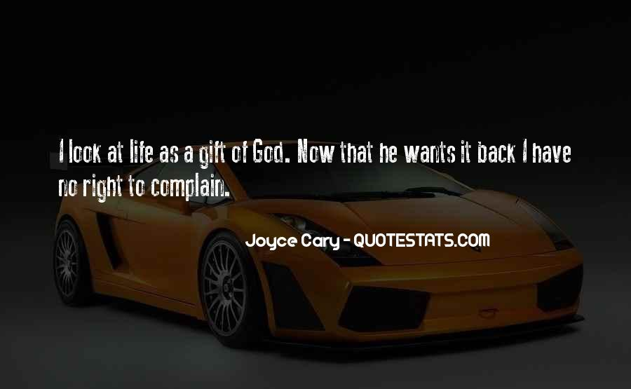 Life Gift God Quotes #399796