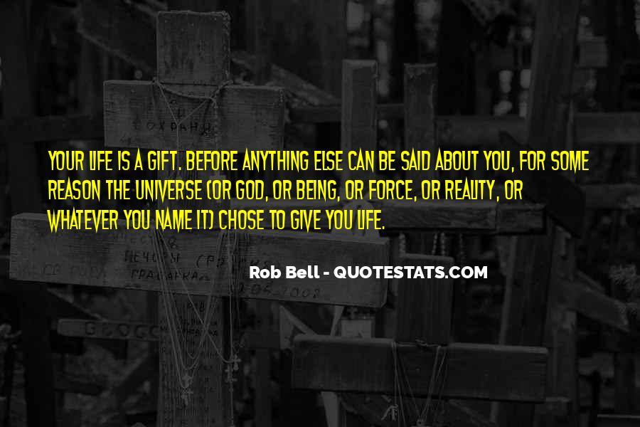 Life Gift God Quotes #44459