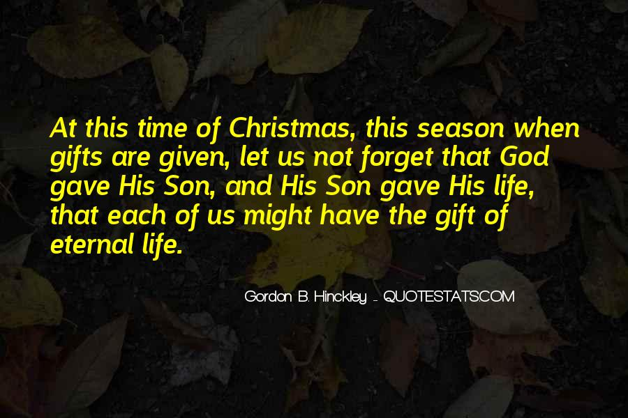Life Gift God Quotes #456201