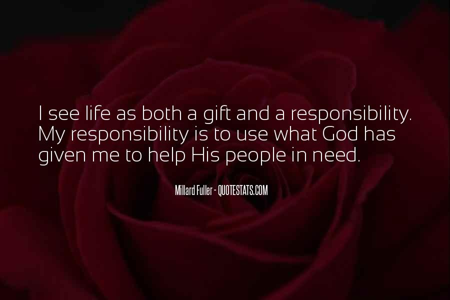 Life Gift God Quotes #517702
