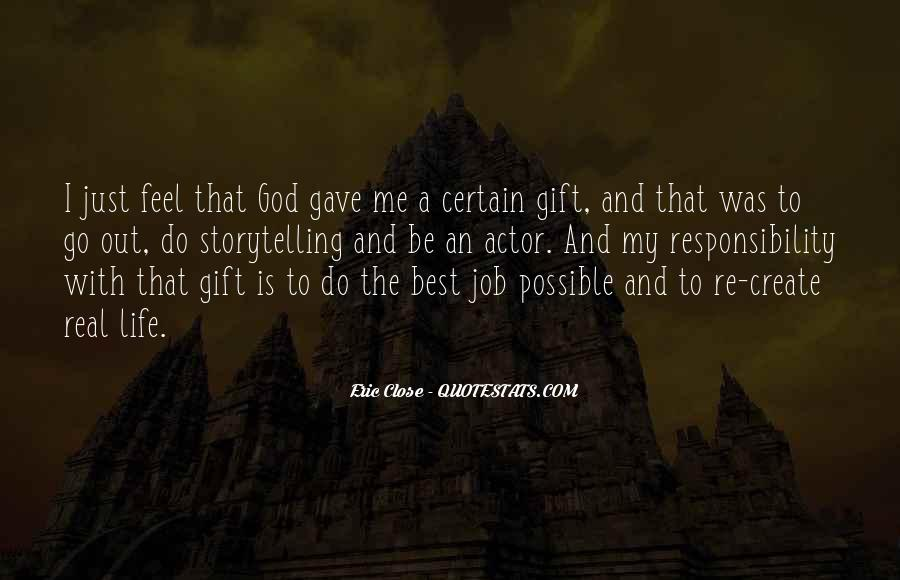 Life Gift God Quotes #54678