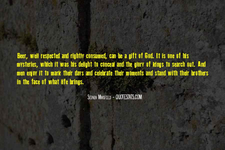 Life Gift God Quotes #595347