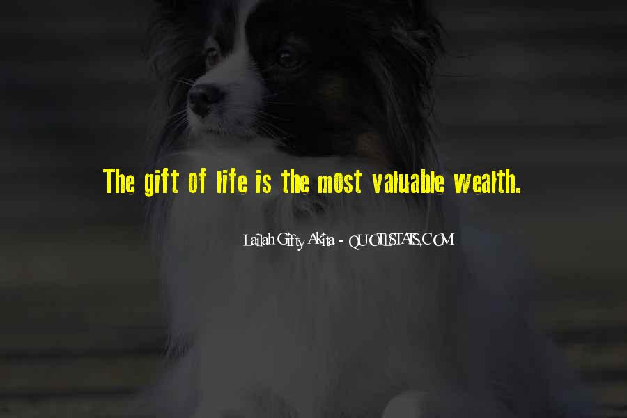 Life Gift God Quotes #773429