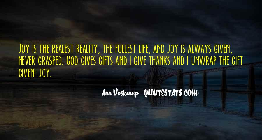 Life Gift God Quotes #782245