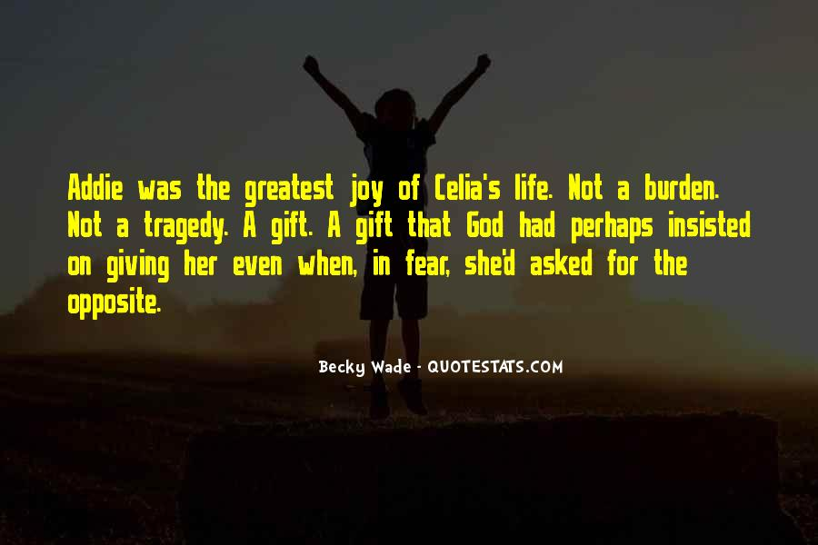 Life Gift God Quotes #873383