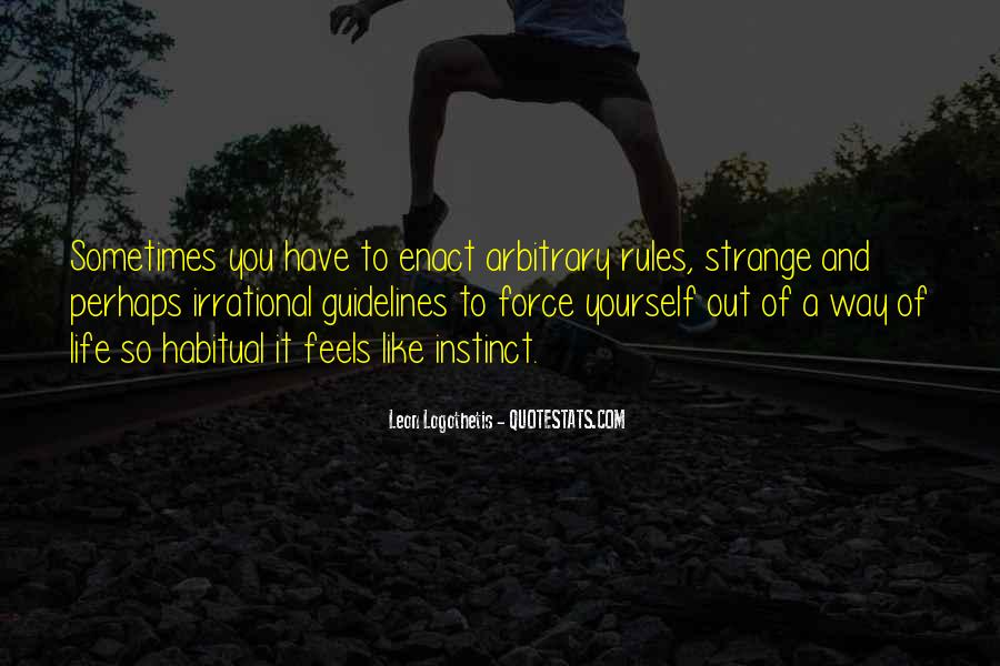 Life Guidelines Quotes #1837899