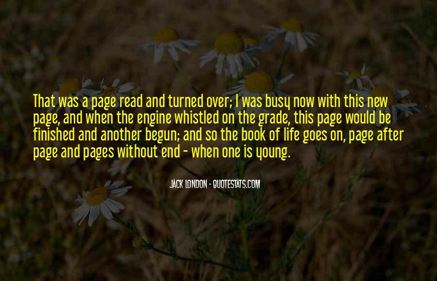 Life Has Begun Quotes #130180
