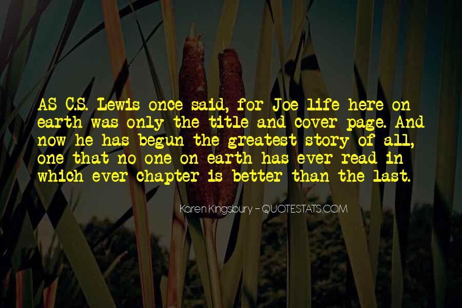 Life Has Begun Quotes #1745102