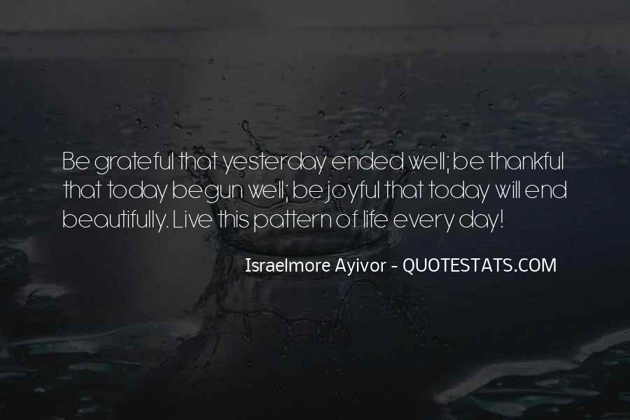 Life Has Begun Quotes #236605