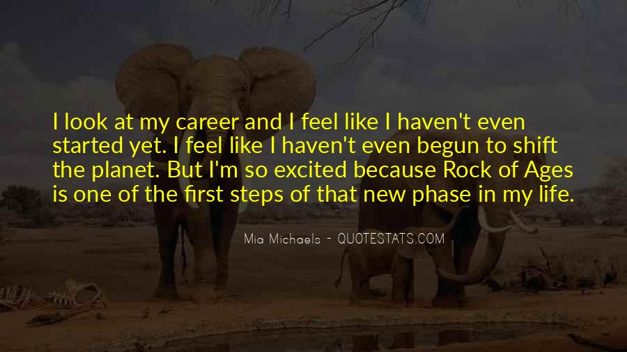 Life Has Begun Quotes #550932