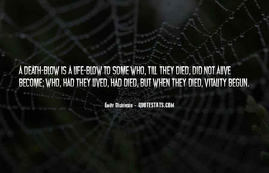 Life Has Begun Quotes #643761
