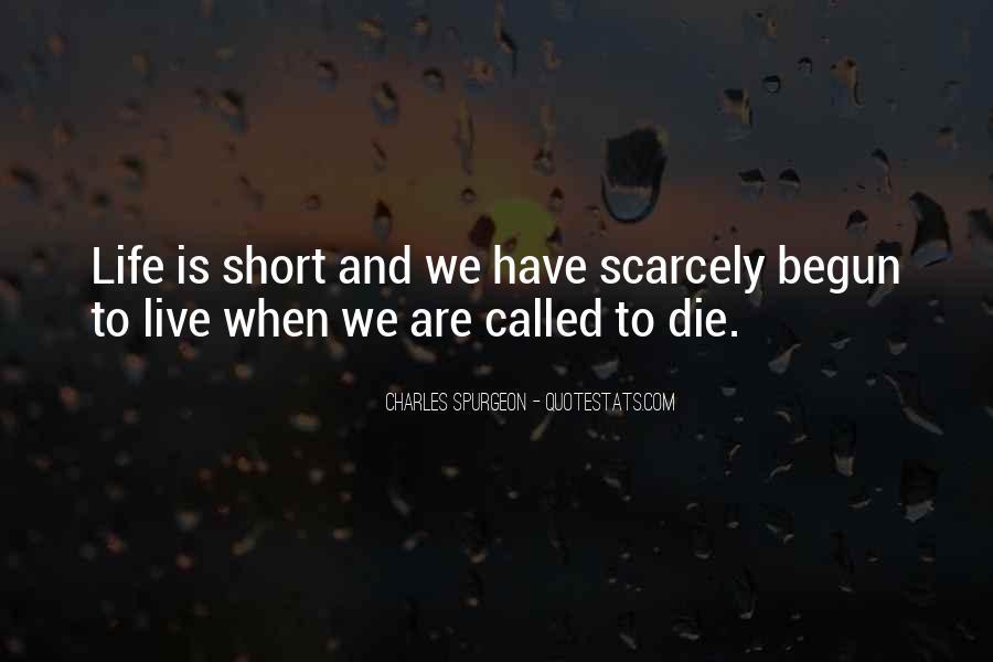 Life Has Begun Quotes #838887