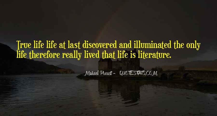 Life Illuminated Quotes #1843732