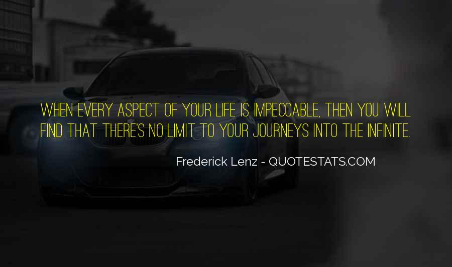 Life Impeccable Quotes #150287