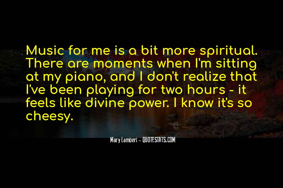 Quotes About Divine Music #1447167