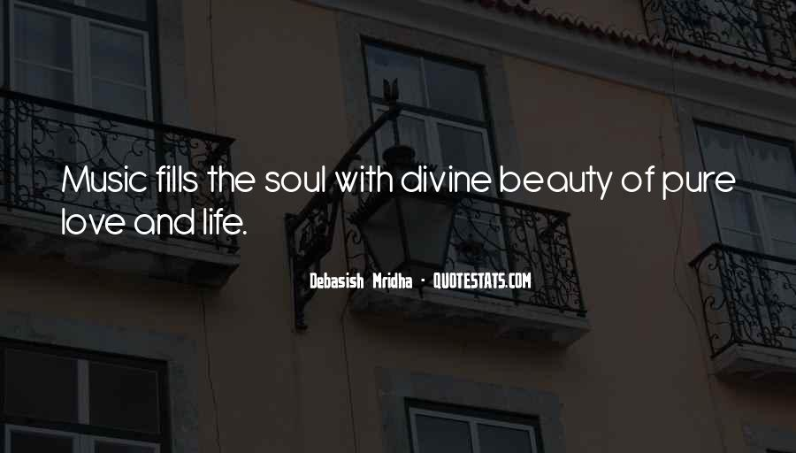 Quotes About Divine Music #1602404
