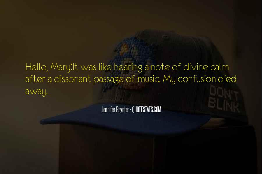 Quotes About Divine Music #185049